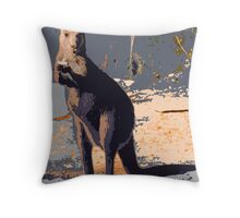 ROLLIE ROO Throw Pillow