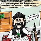 Happy Taliban Options Caricature by Binary-Options