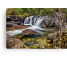 A Mountain Flow Canvas Print
