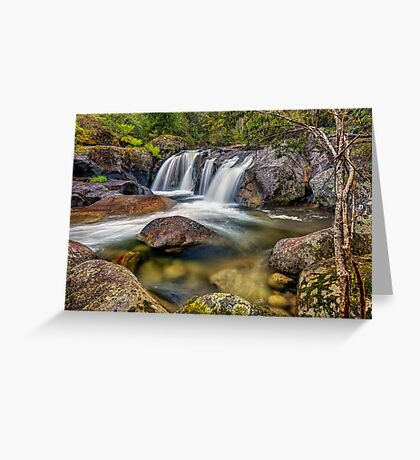 A Mountain Flow Greeting Card