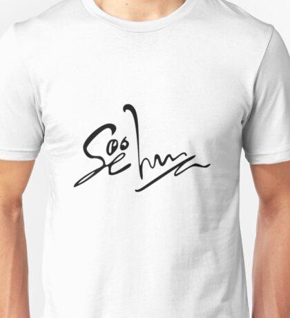 Sehun Signature Unisex T-Shirt