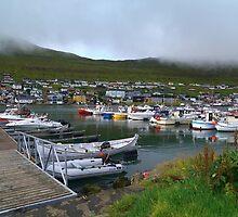 Klaksvig Harbour by Aase