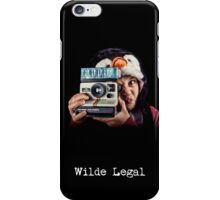 Wilde Legal iPhone Case/Skin