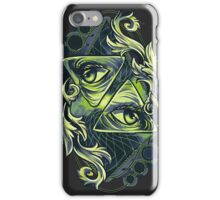 Two Eyes iPhone Case/Skin