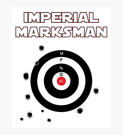 Imperial Marksman Photographic Print