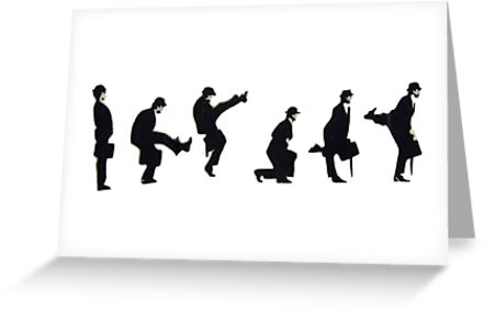 Silly Walk by Sue Porter