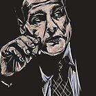 Tony Soprano / James Gandolfini by Pablo Díaz