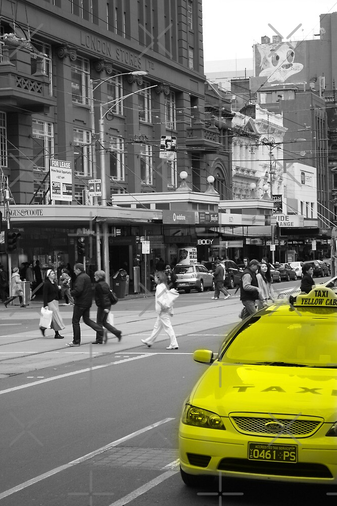 Yellow Taxi by creativecamart