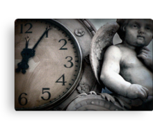 Dark Angel of Time Canvas Print