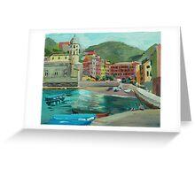 Vernazza, Cinque Terre Greeting Card