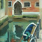Venice Doorway by Lise Temple