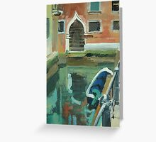 Venice Doorway Greeting Card