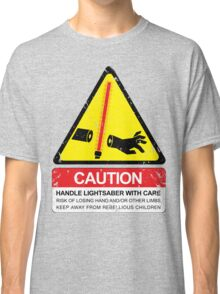 CAUTION: Handle With Care Classic T-Shirt