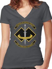 2nd Commando Regiment Women's Fitted V-Neck T-Shirt