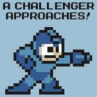 A Challenger Approaches! Black Text by Funkymunkey