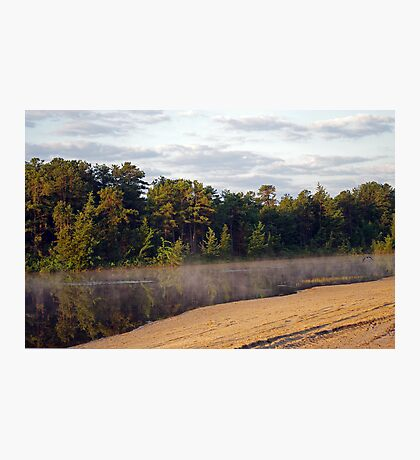 Bald Eagle Leaves Harry Wright Lake  Photographic Print