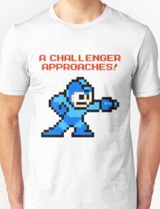 A Challenger Approaches! Red Text T-Shirt