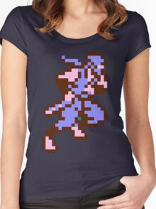 Ninja Gaiden's Ryu Women's Fitted Scoop T-Shirt
