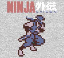 Ninja Gaiden's Ryu with Logo Baby Tee