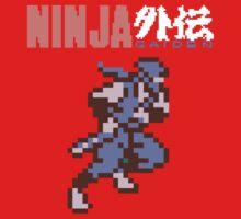 Ninja Gaiden's Ryu with Logo One Piece - Short Sleeve