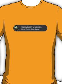 ACHIEVEMENT UNLOCKED - Turned Super Saiyan T-Shirt