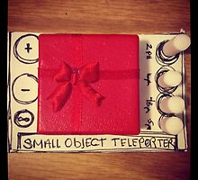 Small object teleporter by Mariel Santana