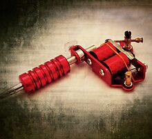 Tattoo gun by Maria Tzamtzi