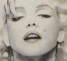 Marilyn Monroe by hollandart