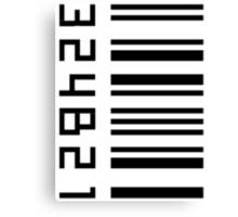 Cosima's barcode  Canvas Print