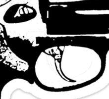 Gun/revolver Tshirt  Sticker