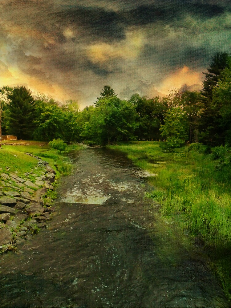 Flowing Stream by PineSinger