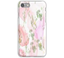 Flower Water Color iPhone Case/Skin