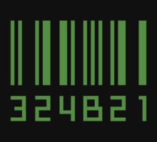 Cosima's barcode green by emptyminds