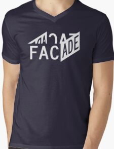 Facade - Grand Theft Auto Mens V-Neck T-Shirt