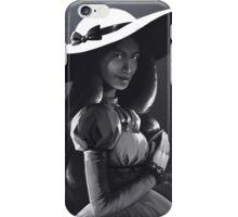 Princess Bubblegum with a white sun hat iPhone Case/Skin