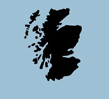 Map of Scotland Unisex T-Shirt