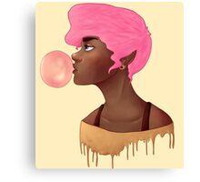 Bubblegum princess  Canvas Print