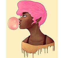 Bubblegum princess  Photographic Print
