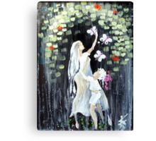 rainy butterflies  Canvas Print