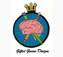 Gifted Genius Designs Logo Unisex T-Shirt