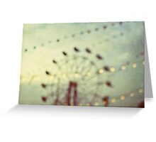 summer nights Greeting Card