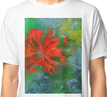 Floral Abstract - Multimedia Classic T-Shirt