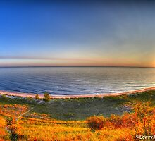 The Beauty of Lake Michigan by BarbL