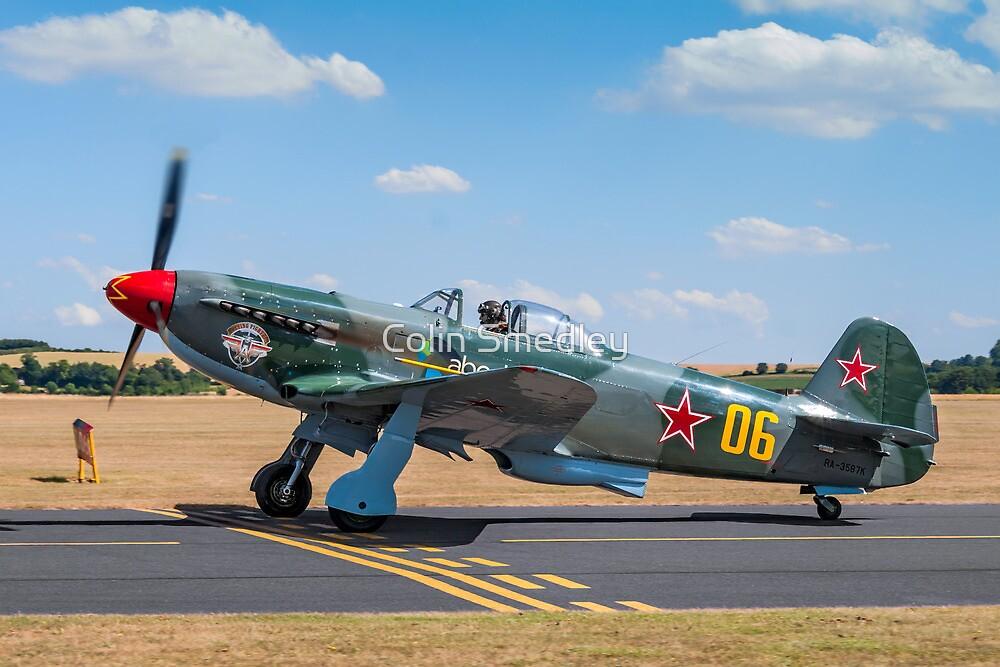 Yakovlev Yak-9UM RA-3587K by Colin Smedley