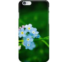 Forget-me-not iPhone Case/Skin