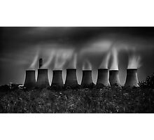 Power and Pollution Photographic Print