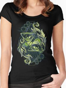 Two Eyes Women's Fitted Scoop T-Shirt