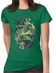 Two Eyes Womens Fitted T-Shirt