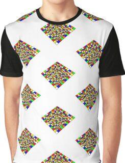 Illusion Cube  Graphic T-Shirt