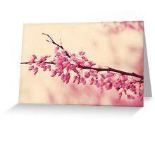 blossom love Greeting Card